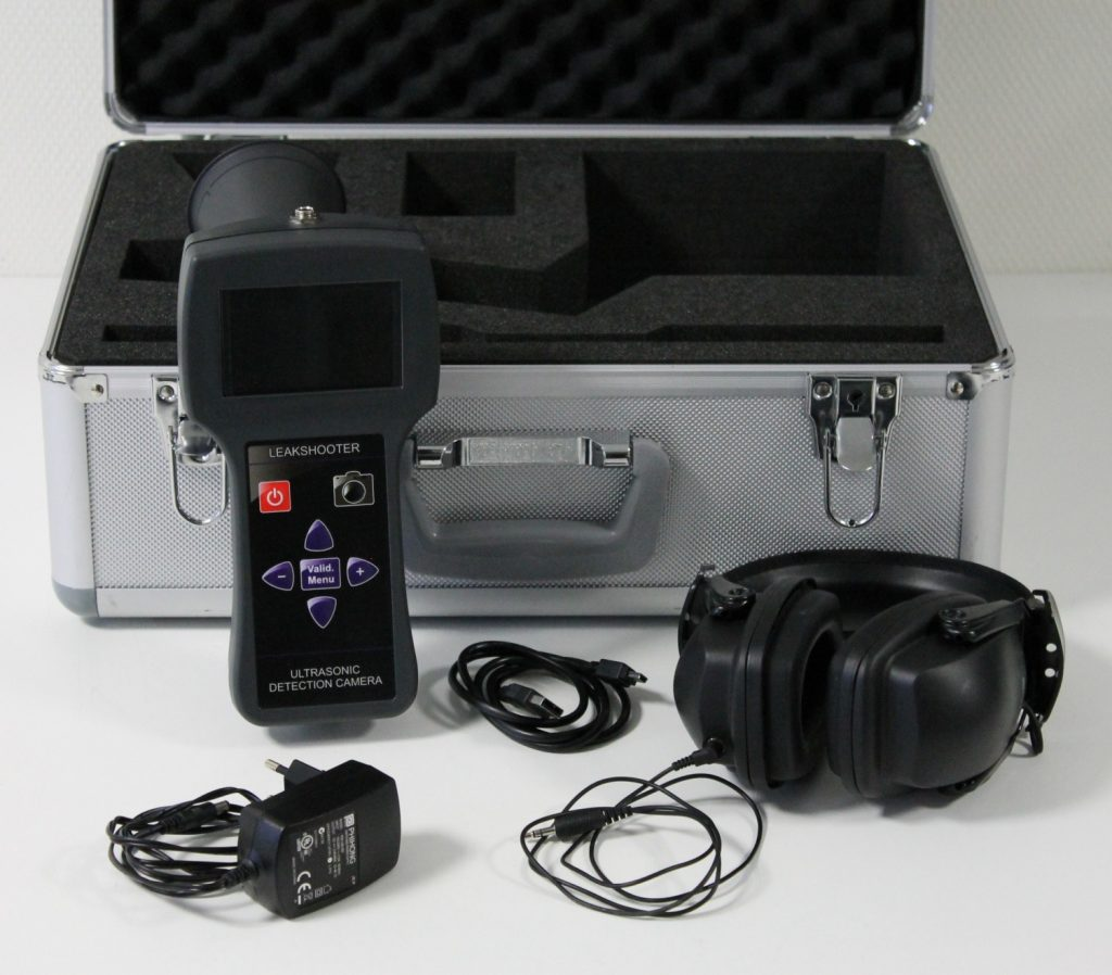 leakshooter lks1000 ultrasonic leak detection. Black Bedroom Furniture Sets. Home Design Ideas